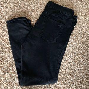 Hollister Jeans - Hollister distressed black denim